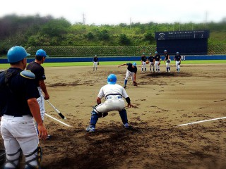 第41回 社会人野球日本選手権大会 最後練習