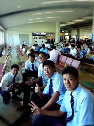 日本選手権大会へ出発